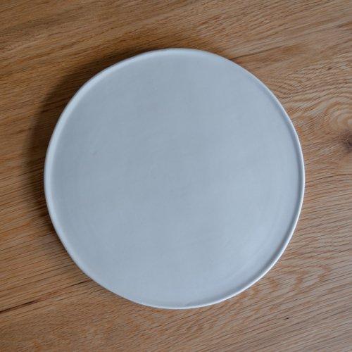 馬場勝文 / 白磁マット大皿