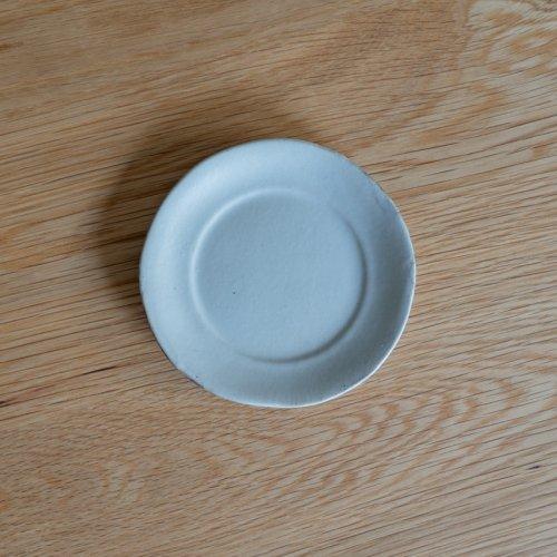 馬場勝文 / 土マット リム4.5寸皿