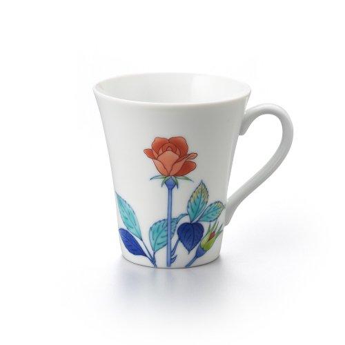 バラ 長マグカップ 赤
