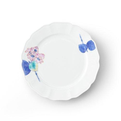 五草花 ベゴニア 木瓜7寸皿