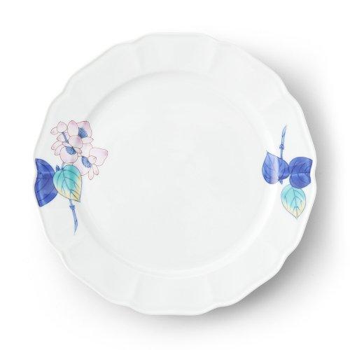 五草花 ベゴニア 木瓜9寸皿