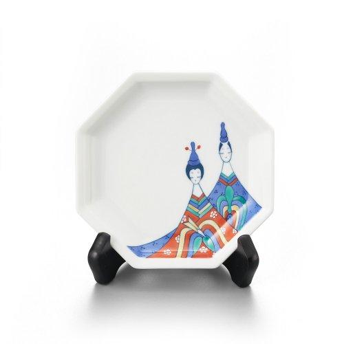 雛 八角飾り皿