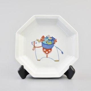 干支 丑 飾り皿 / 大