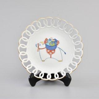 干支 丑 輪繋 飾り皿