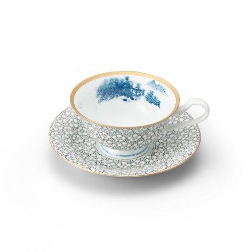 梅詰 紅茶碗