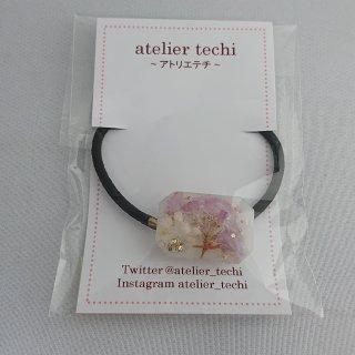 【atelier techi】ヘアゴム(ストーン・お花)