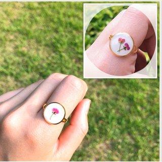 【tara artwork】お花のリング