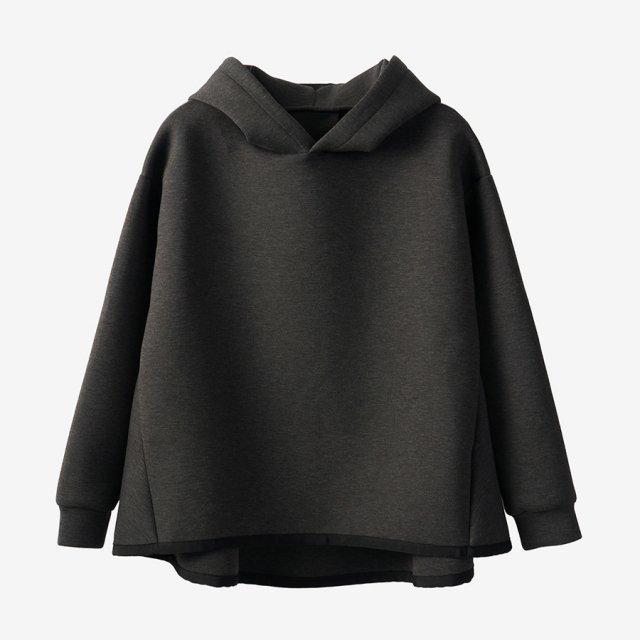 ダンボールニットパーカー【dark gray】