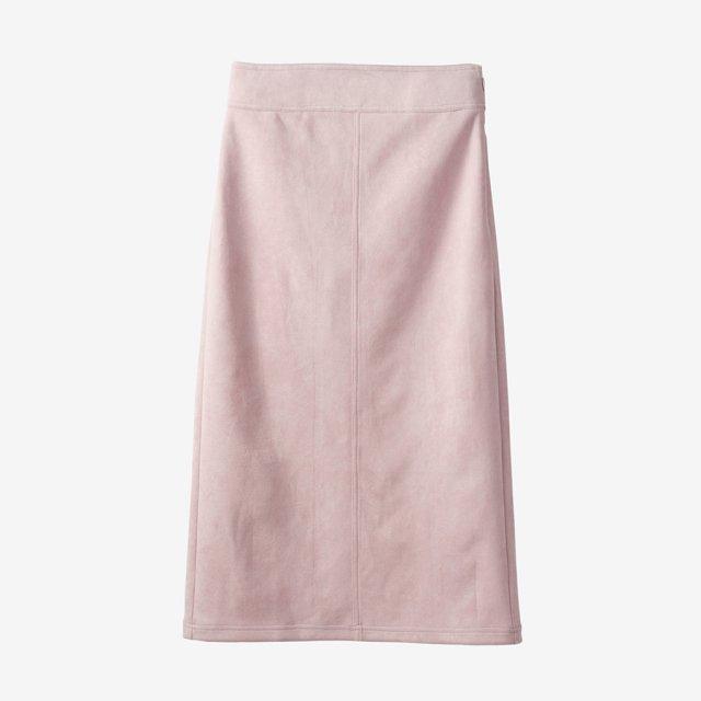 スウェードスカート【pink】