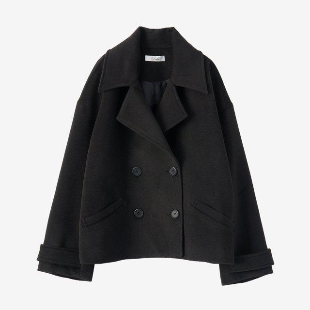 ショートコート【black】