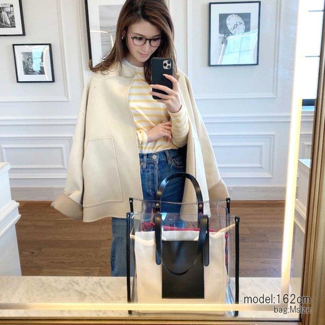 clear tote bag【M】