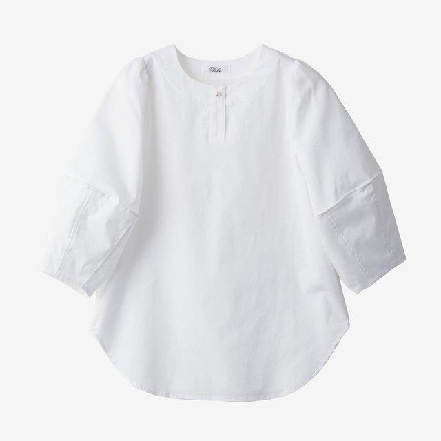パフスリーブブラウス【white】