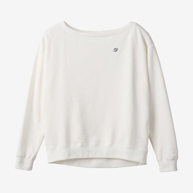 ロゴスウェット 【white】