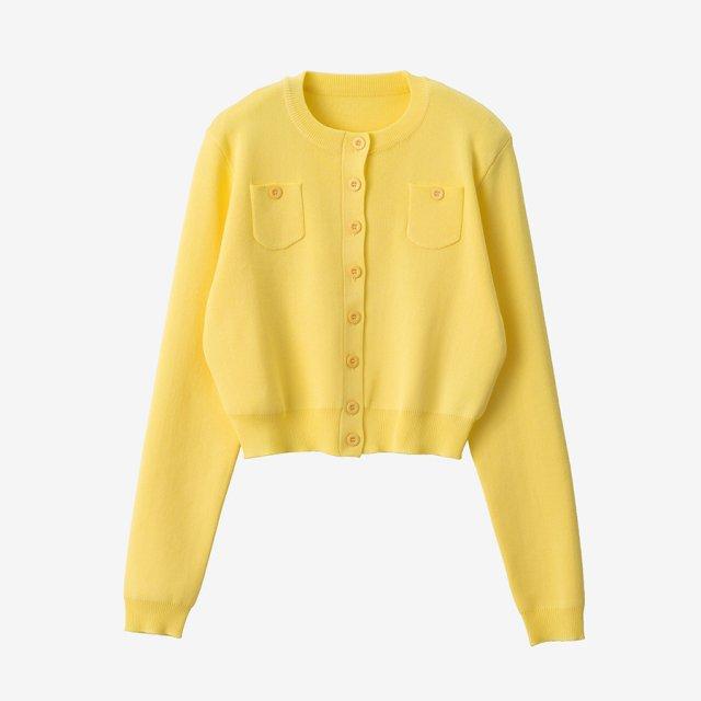 サマーカーディガン【yellow】