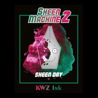 KWZ(カウゼット) Sheen Machine 2 SHEEN DAY(レッドフラッシュインク)
