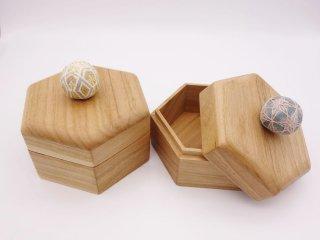 Cohana(コハナ)手まりの六角小箱