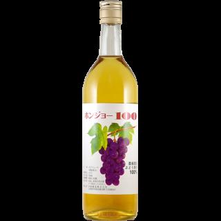 無添加ジュース ホンジョー100 白 720mL (白ブドウ 果汁 スクリューキャップ)