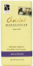 ショコラマダガスカル 『ホワイトゴールドチョコレート 45%』