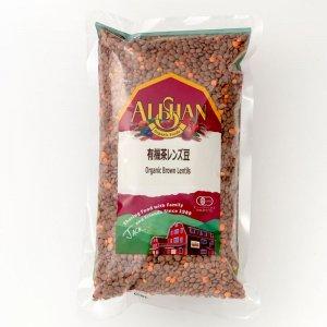有機茶レンズ豆 500g [アリサン]