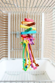 レインボーカラーのカミカミロープ
