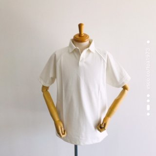 quotidien(コティディアン)鹿の子織りポロシャツ