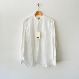 <img class='new_mark_img1' src='https://img.shop-pro.jp/img/new/icons2.gif' style='border:none;display:inline;margin:0px;padding:0px;width:auto;' />FOB FACTORY  BAND COLLAR SHIRT