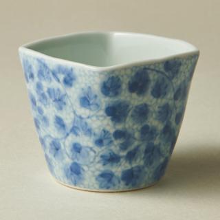 角フリーカップ/唐草<br>square cup