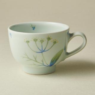 コーヒーカップ&ソーサー/フェンネル<br>coffee cup & saucer