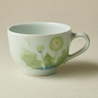 コーヒーカップ&ソーサー/タンポポ<br>coffee cup & saucer