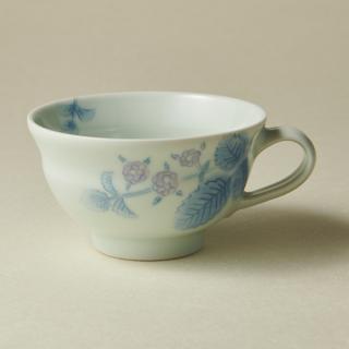 ティーカップ&ソーサー/ブラックベリー<br>tea cup & saucer