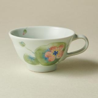 ティーカップ&ソーサー/ナスタチウム<br>tea cup & saucer