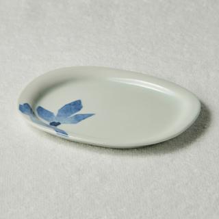 楕円皿/木蓮<br>oval plate