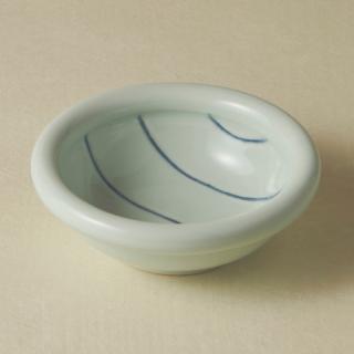 4寸玉縁鉢/ボーダー<br>130mm tamabuchi bowl