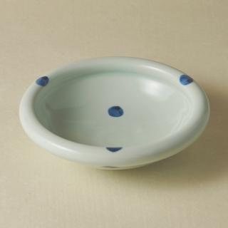 6寸玉縁鉢/水玉<br>180mm tamabuchi bowl