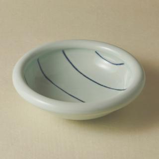 6寸玉縁鉢/ボーダー<br>180mm tamabuchi bowl