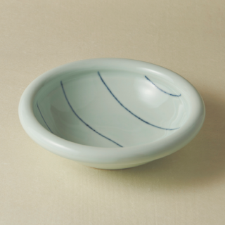 7寸玉縁鉢/ボーダー<br>210mm tamabuchi bowl