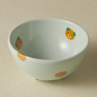 足付コロコロ鉢(小)/みきゃん<br>bowl with legs
