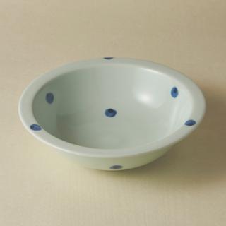 リム鉢(大)/水玉<br>large rim bowl