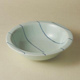 リム鉢(大)/ボーダー<br>large rim bowl