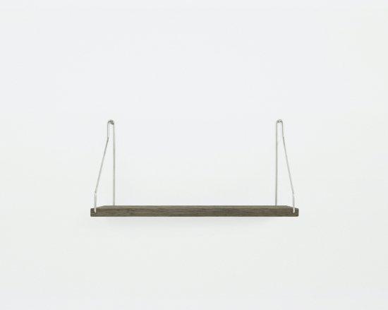 Shelf Dark D20 W40 | Steel Brackets