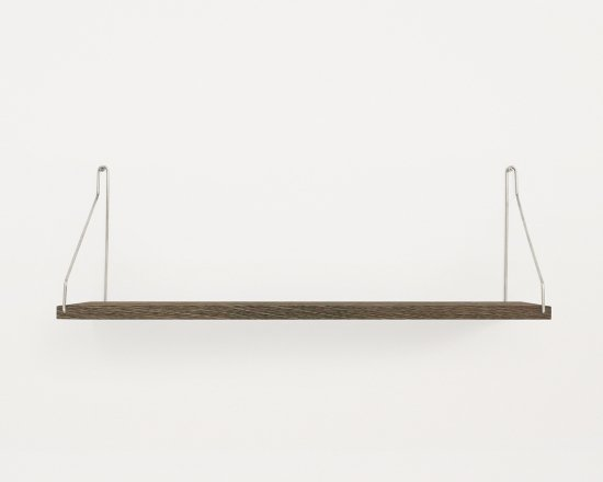 Shelf Dark D20 W60 | Steel Brackets