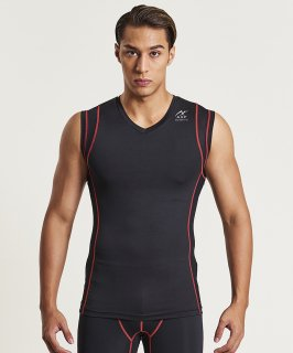 Balance Fit Sleeveless Tee(V-neck)