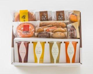 フルーツゼリーと焼き菓子のセット(春夏限定)