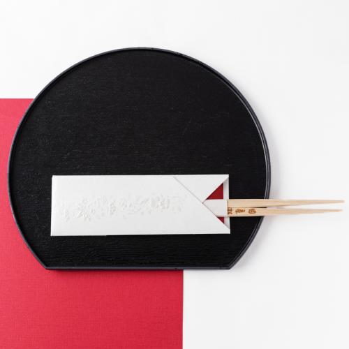 フリソデ箸袋 /パール(5本セット)