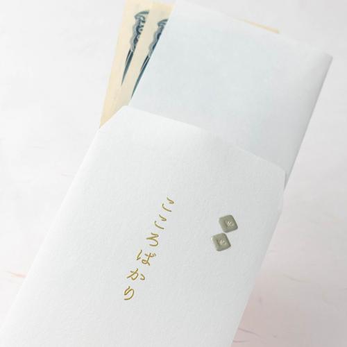 封筒型のし袋/四角のし-マットシルバー-