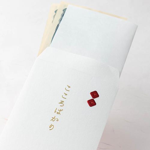 封筒型のし袋/四角のし-メタリックレッド-