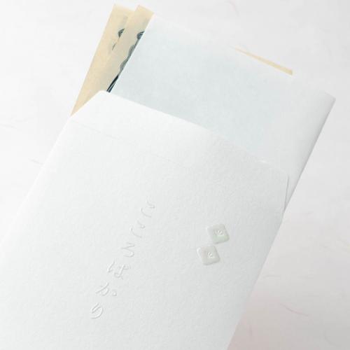 封筒型のし袋/四角のし-パール×クリスタル-
