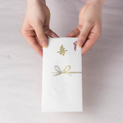 封筒型のし袋 / 寿と宝船
