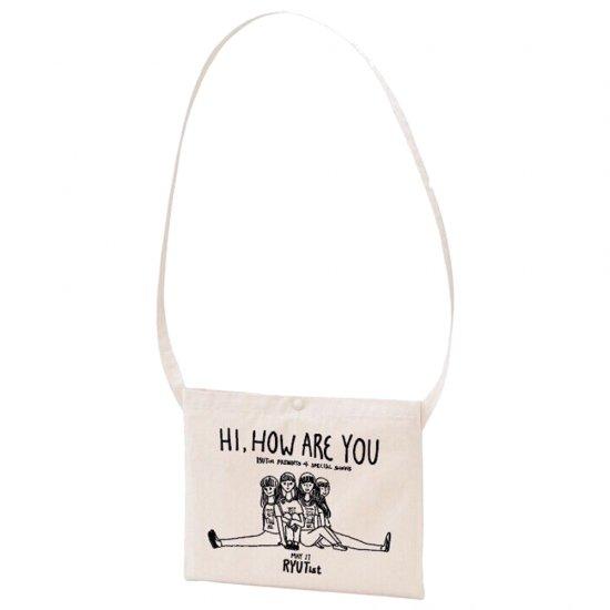 「 HI, HOW ARE YOU 」(1stシリーズ) - サコッシュ