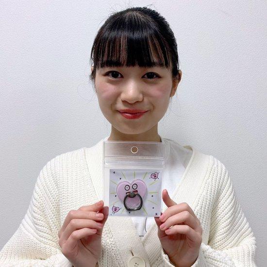 ハートちゃんスマホリング【宇野友恵バースデイライヴ2021記念グッズ】